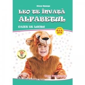 Leo te invata alfabetul. Pentru clasa pregatitoare. Caiet de lucru