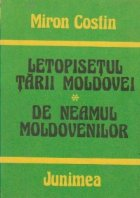 Letopisetul Tarii Moldovei. De neamul moldovenilor