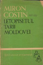 Letopisetul Tarii Moldovei (Miron Costin)