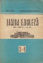 Limba Engleza, Manual pentru anii III-IV de studiu