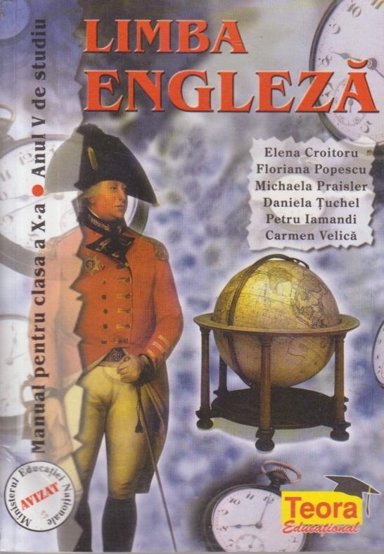 Limba Engleza, Manual pentru clasa a X-a - Limba a II-a, Anul V de studiu