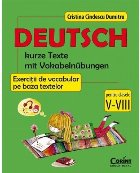 Limba germana Exercitii vocabular baza