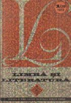 Limba Literatura 1/1972