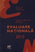 Limba si literatura romana - Evaluare nationala 2010