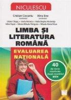 Limba literatura romana Evaluarea Nationala