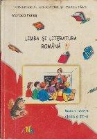Limba si literatura romana, Manual pentru clasa a II-a