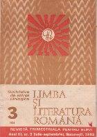 Limba si literatura romana, Nr. 3/1982 - Revista trimestriala pentru elevi