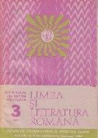 Limba literatura romana 3/1985 Revista