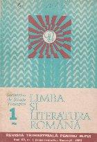 Limba literatura romana 1/1986 Revista