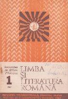 Limba si literatura romana, Nr. 1/1987 - Revista trimestriala pentru elevi