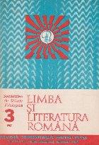 Limba si literatura romana, Nr. 3/1987 - Revista trimestriala pentru elevi