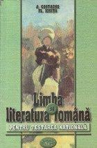 Limba literatura romana pentru testarea