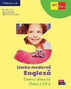Limba modernă Engleză clasa III