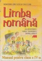 LIMBA ROMANA MANUAL PENTRU CLASA