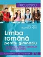 Limba romana pentru gimnaziu. Gramatica, fonetica, vocabular, ortografie si ortoepie