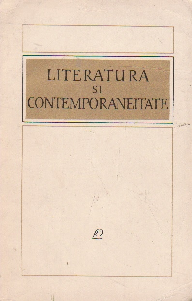 Literatura si contemporaneitate