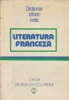 Literatura franceza - Dictionar istoric critic