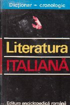 Literatura italiana. Dictionar cronologic