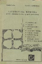 Literatura romana pentru admiterea in licee si scoli profesionale