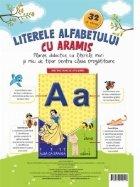 Literele alfabetului cu Aramis. Planse didactice cu litere mari si mici de tipar pentru clasa pregatitoare. 32 de planse
