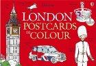 London postcards to colour