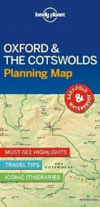 Lonely Planet Oxford & the Cotswolds Planning Map