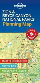 Lonely Planet Zion & Bryce Canyon National Parks Planning Ma