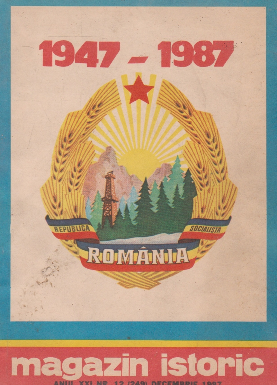 Magazin istoric, Nr. 12 - Decembrie 1987