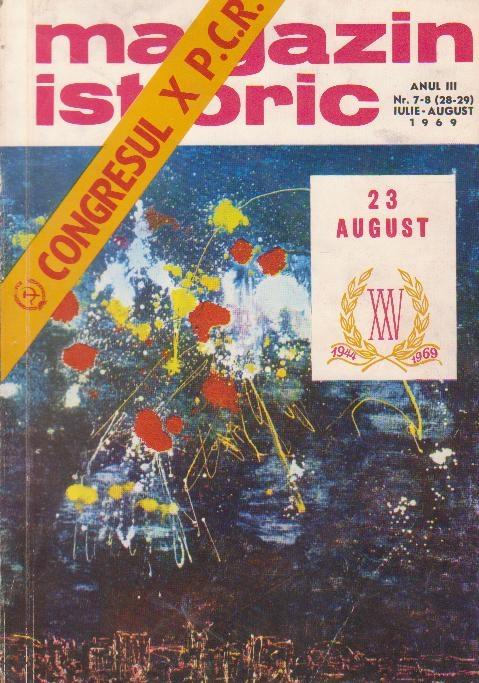 Magazin istoric, Nr. 7-8 -- Iulie-August 1969