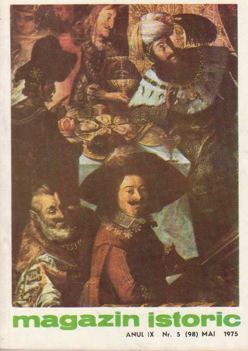Magazin istoric, Nr. 5 - Mai 1975