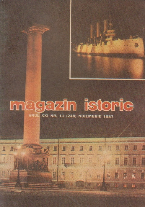 Magazin istoric, Nr. 11 - Noiembrie 1987