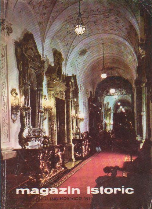 Magazin Istoric, Noiembrie 1972