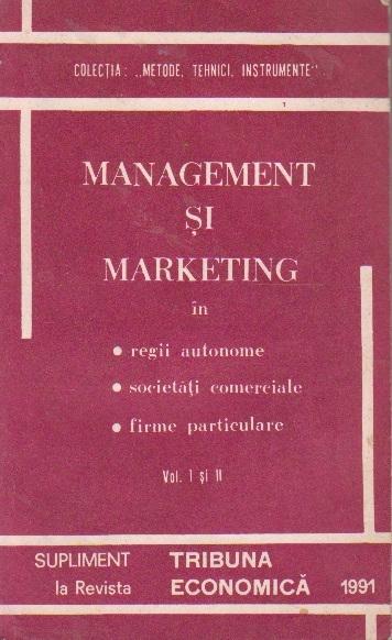 Managementul intreprinderii in conditiile economiei de piata