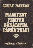 Manifest pentru sanatatea Pamintului