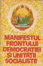 Manifestul Frontului Democratiei si Unitatii Socialiste 1980