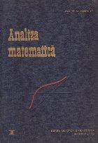 Manual analiza matematica Volumul Algebra