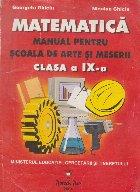 MANUAL MATEMATICA PENTRU SCOALA ARTE