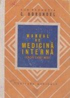 Manual de medicina interna pentru cadre medii (C. Borundel)