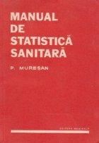 Manual de statistica sanitara