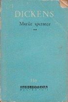 Marile Sperante, Volumul al II-lea
