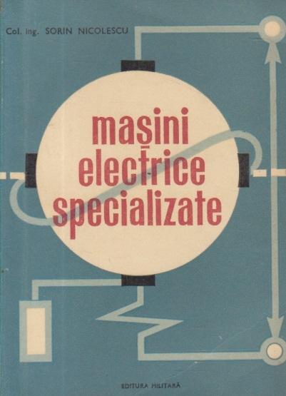 Masini electrice specializate