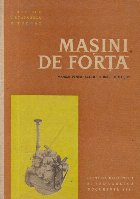 Masini de forta, Manual pentru scolile tehnice de maistri