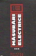 Masurari electrice industriale Volumul III