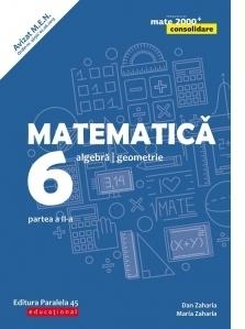Matematica. Algebra, geometrie. Clasa a VI-a. Consolidare. Partea a II-a