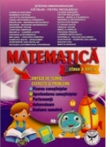 Matematica - clasa a VIII-a (Exercitii si probleme : Fixarea cunostintelor. Aprofundarea cunostintelor. Performanta. Autoevaluare. Evaluare sumativa)