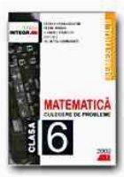 MATEMATICA. CULEGERE DE PROBLEME PENTRU CLASA a 6-a (Semestrul II)