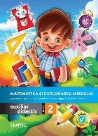 Matematica si explorarea mediului, auxiliar didactic pentru clasa a II-a