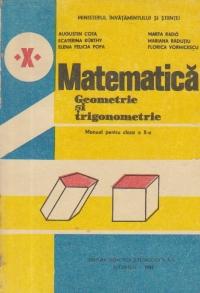 Matematica - Geometrie si trigonometrie (Manual pentru clasa a X-a)