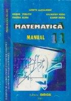 Matematica Manual pentru clasa Programa