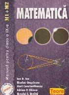 Matematica - Manual pentru clasa a IX-a (M1 si M2)